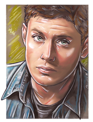 spn - Dean by LadyMintLeaf