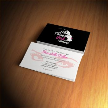 Beauty Designer Calling Card by jlgm25