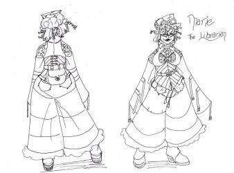 steampunk design marie by lacewing