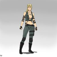 Sonya Blade by Ross-Vlixes