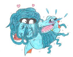 Totodile Tickle Torture Tangelas Love Tickling