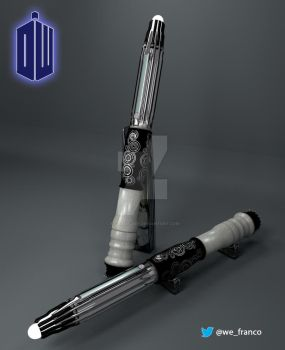 The New Mark VIII Sonic Screwdriver for the 12th by kitzunegary