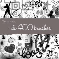Todos mis brushes by Noelove