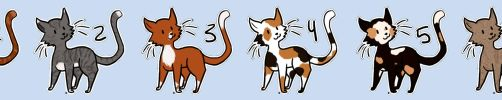 Cat Adopts (4/6 Open) by FreyasAdoptables