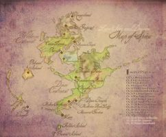 FFX Map of Spira for LHaD by auronlu
