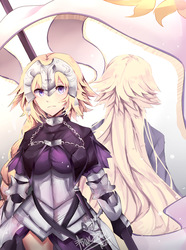 Ruler: Jeanne d'arc by Wes80