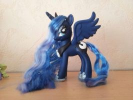 Princess Luna - Custom Made - FOR SALE by CelestPapermoon