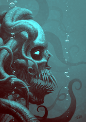 Octoskull by Disse86