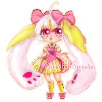 Bunny girl AUCTION [CLOSED] by SwedishSweets