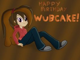 Happy Birthday Wubcake! by JustSomePainter11