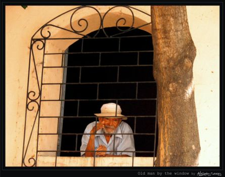 Old man by the window by alejandro1717