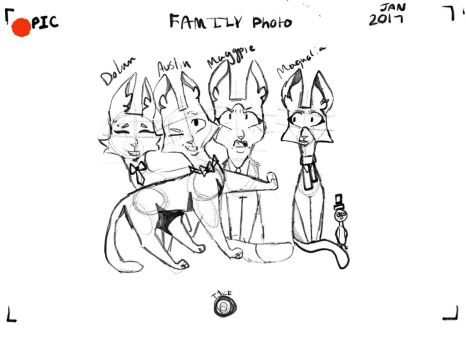 Family photo by MoonHunterOwO