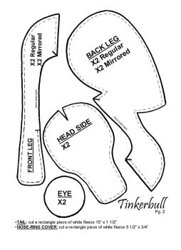 Tinkerbull sewing pattern Pg. 2 by lishlitz