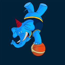 Basketball Mascot by Revan1118