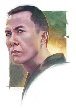 Donnie Yen by lshgsk