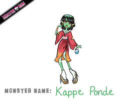 Monster High Contest: Kappe Ponde by vinnie-cha