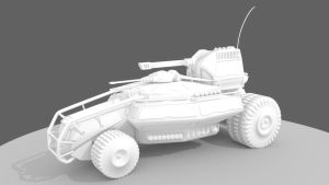 Light Reconnaissance Vehicle by Berandas
