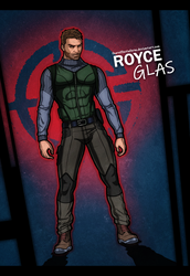 Fear Effect - Royce Glas Redesigned by LitoPerezito