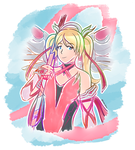[Drawing] - Pink Mercy (BCRF Charity Skin) by Orahi-shiro