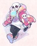 Cotton Candy Sans by OracleSaturn