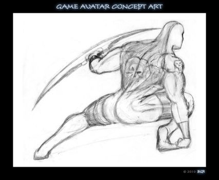 Character concept art by bgr