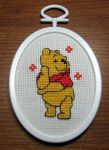 Pooh Bear In Stitches by guardian-of-moon