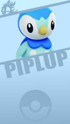 Piplup by PikachuDM