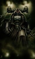 Dark Angels Chaplain by Filip-Hammer