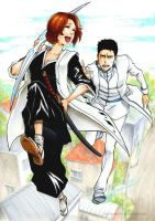 BLEACH: Try to catch me! by Sideburn004