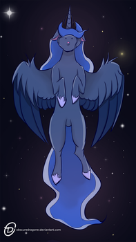 To The Moon by ObscureDragone
