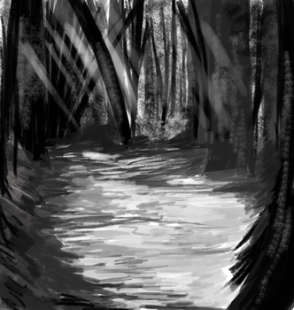 Ugly forest practice lmfao by MaidenoftheFlowers