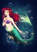 Princess Ariel by UNIesque