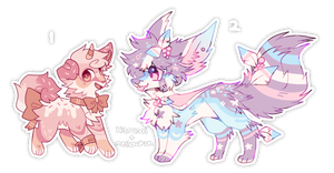 + colorful things (adopts auction) || closed + by MellowKun