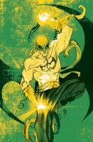 Iron Fist cover commission - vintage '70 version