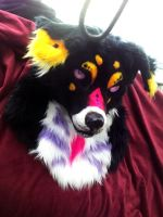 Woot fursuit head by AlieTheKitsune