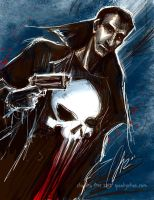Commission- The Punisher by SpookyChan