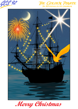Happy Holidays from The Golden Pirate! by gcs1992