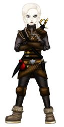 Portia the Halfling Rogue [Full] by rolloverpudding