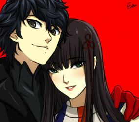 Persona 5 by Esther-Shen