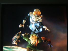 Sheik and Link by Ridleigh