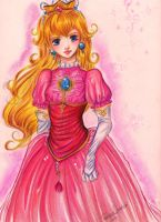SSBB: Princess Peach by Rebe-chan-vk