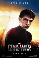 Captain America: Civil War - Spider-Man Poster by CAMW1N