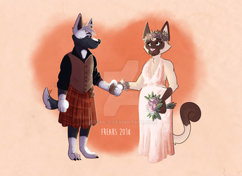 Love like you - wedding card by Freak-s