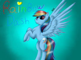 Rainbow Dash by MidNightFlyer53