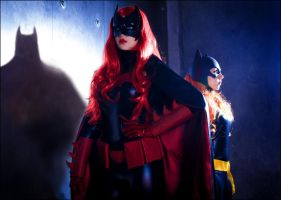 Batwoman and Batgirl cosplay - Shadows by love-squad