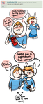 Ask us! 57  -Pocky- by Tuxedough