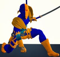 Deathstroke second skin textures for M4 by hiram67