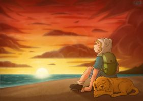 [AT] Living so Merrily by KamiSulit