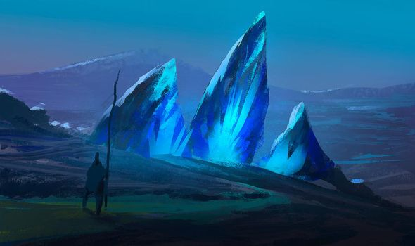 Blue Stones by parkurtommo