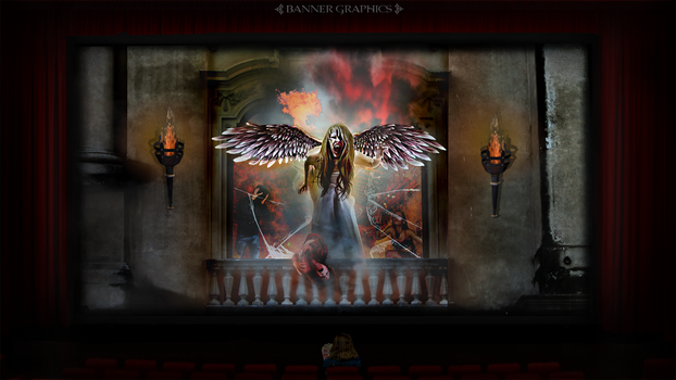The Living Hell Matinee by BannerGraphics